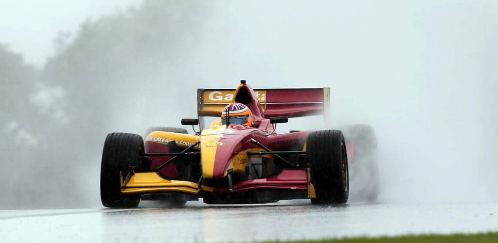 Circuit Driving in the Rain