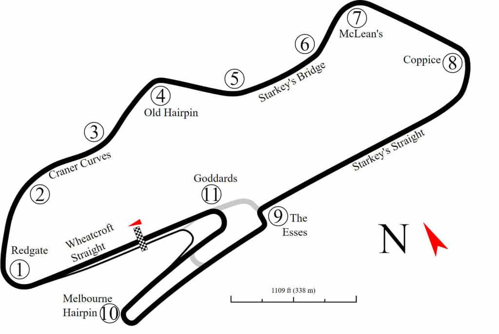 The Definitive Circuit Guide To Donington Park Driver 61
