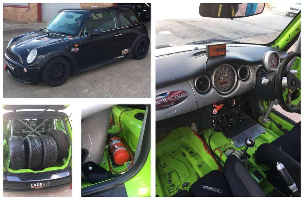 mini challenge racing car for sale