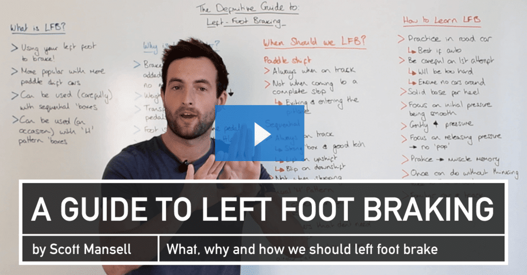 Left Foot Braking - A How To Guide - Driver 61