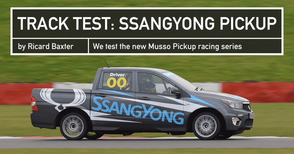 Track Test Ssangyong Musso Pick Up Racing Series Driver 61