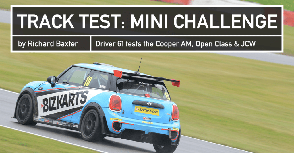 Track Test Mini Challenge Cooper Am Open Class Jcw Driver 61