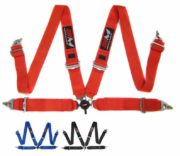 "Racing 4 Point Harness FIA Approved 3"" Belt - Alloy Adjusters"