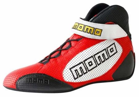 MOMO GT Pro Boots in Red
