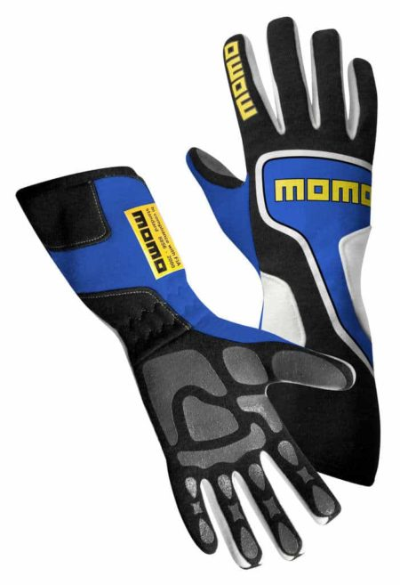 MOMO Xtreme Pro Gloves in Blue