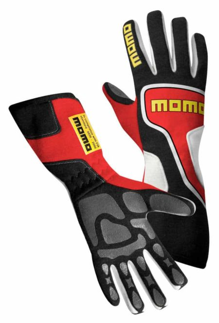 MOMO Xtreme Pro Gloves in Red