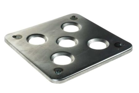 Dry Sump Oil Tank Base - Fabricated Steel Weld In Mount Platform Plate