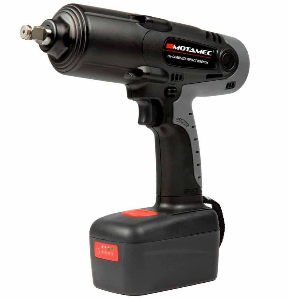 Cordless Impact Wrench 18v 1 2 Drive Lithium Ion 430 Ft Lb 588nm