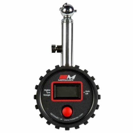 Motorsport Tyre Pressure Gauge Digital LCD Display Hand Held 0-60 psi By Motamec
