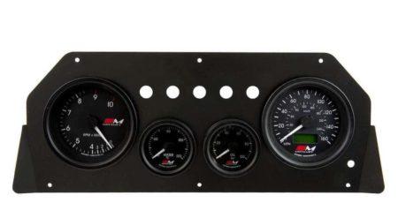 Escort MK2 Alloy Dash Panel Kit Gauges Rev Counter Speedo Oil Water