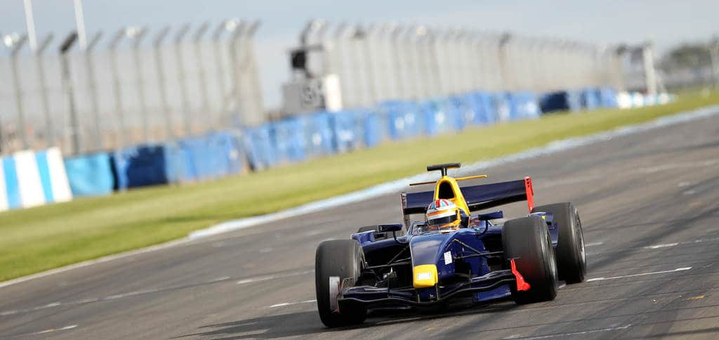Scott Mansell in GP2