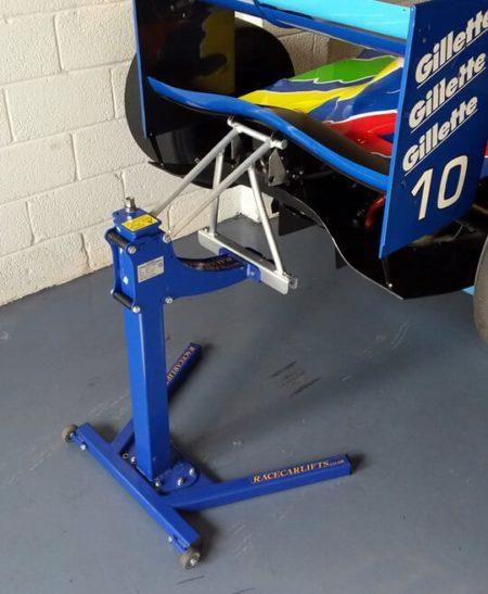 Race Car Lift Bracket Example