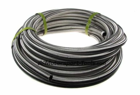 AN -12 AN12 JIC Stainless Steel Braided Hose Fuel Oil Coolant 1m Metre