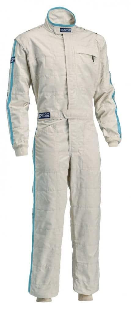 Sparco Classic Race Suit in Ecru