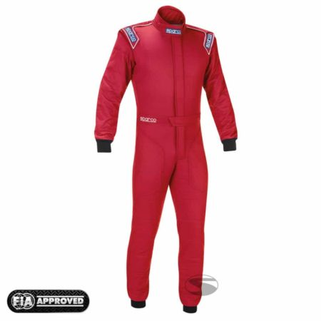 Sparco Sprint RS-2 Race Suit in Red