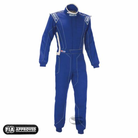 Sparco Victory RS-4 Race Suit in Blue