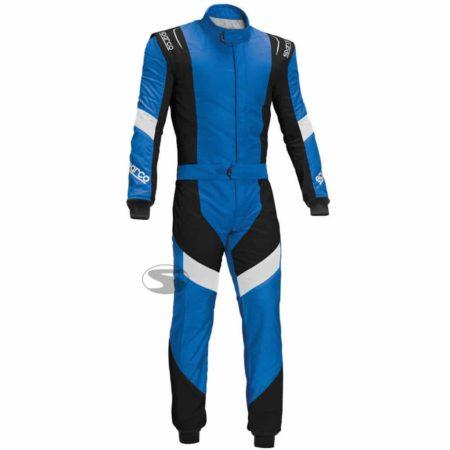 Sparco X-Light RS-7 Race Suit in Blue