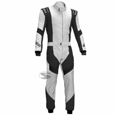 Sparco X-Light RS-7 Race Suit in White