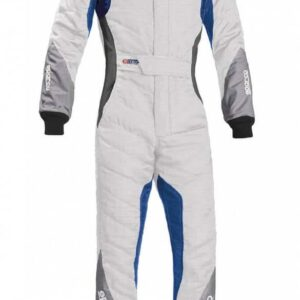 Sparco Eagle RS-8.1 Race Suit in White & Blue thumbnail