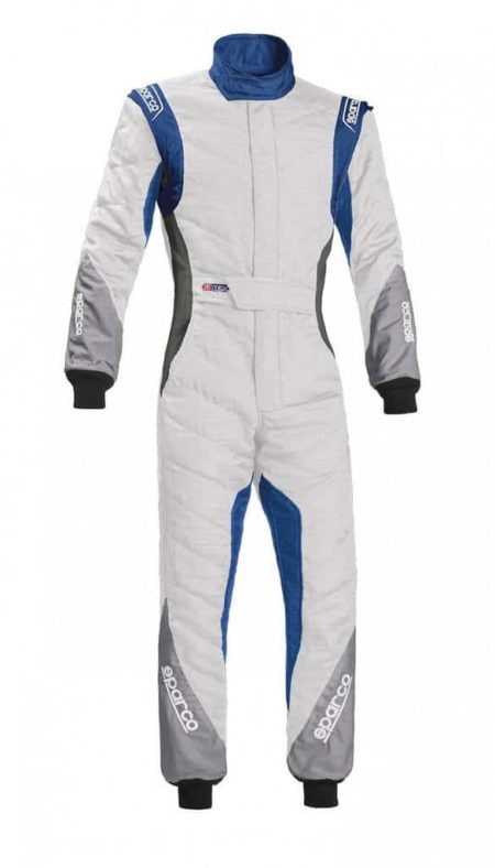 Sparco Eagle RS-8.1 Race Suit in White & Blue