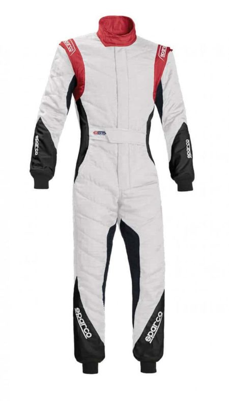 Sparco Eagle RS-8.1 Race Suit in White & Red