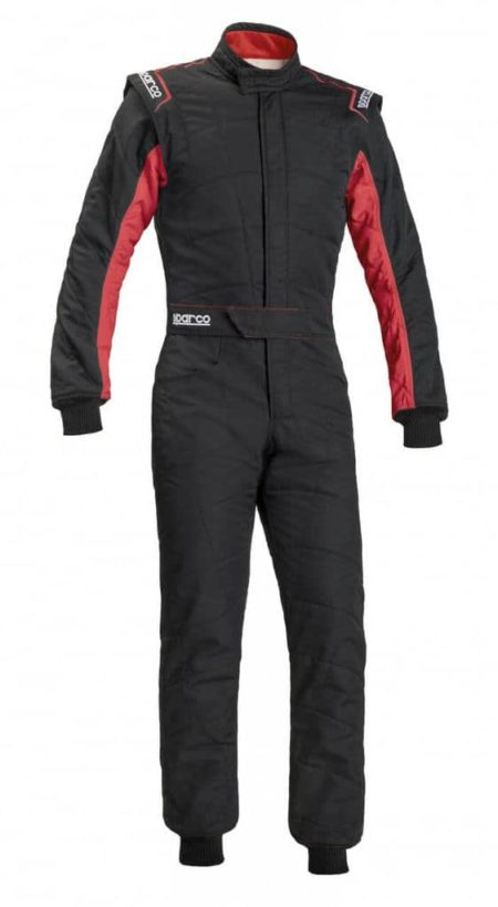 Sparco Sprint RS-2.1 Race Suit in Black & Red