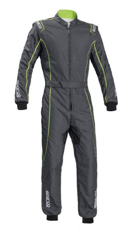Sparco Groove KS-3 Kart Suit in Grey & Green