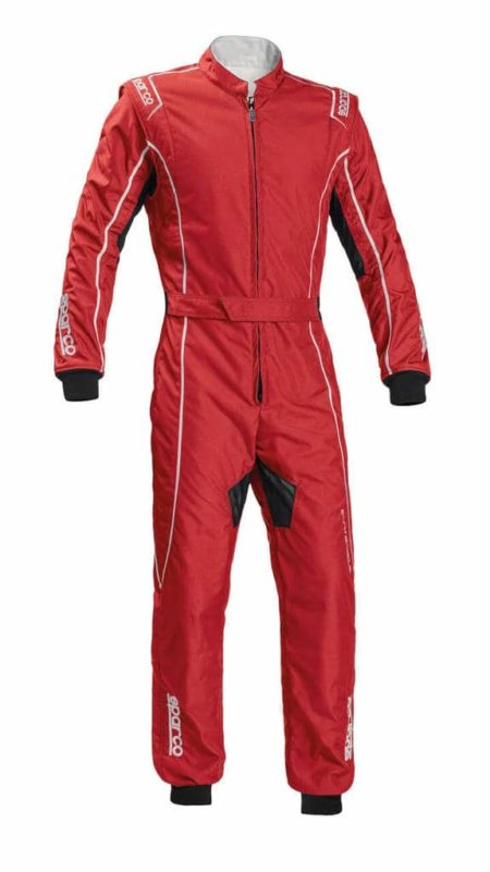 Sparco Groove KS-3 Kart Suit in Red