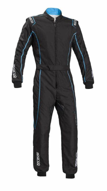 Sparco Groove KS-3 Kart Suit in Grey & Blue