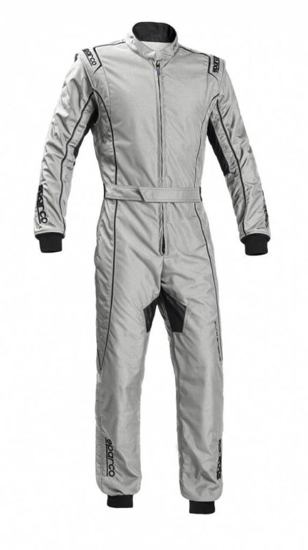 Sparco Groove KS-3 Kart Suit in Silver