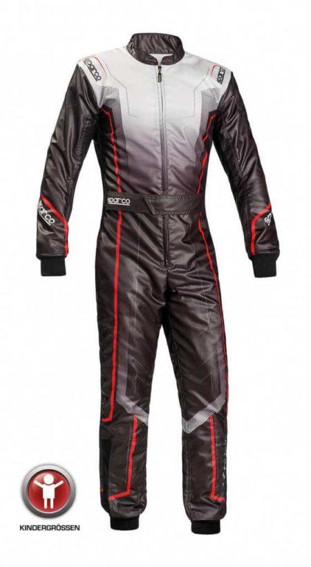 Sparco Prime KS-10 Kart Suit for Children in Black