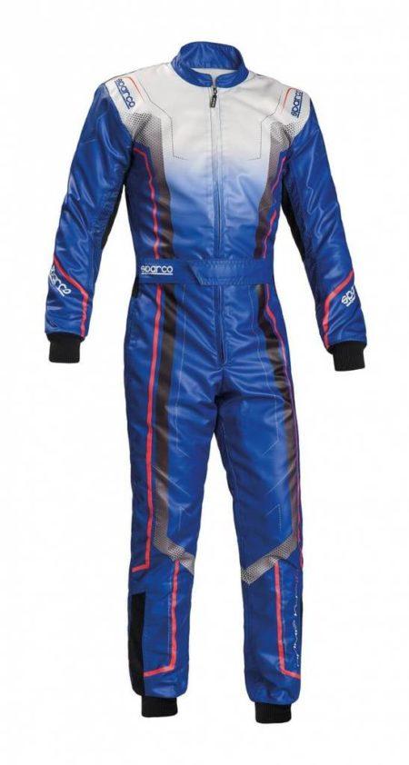 Sparco Prime KS-10 Kart Suit in Blue