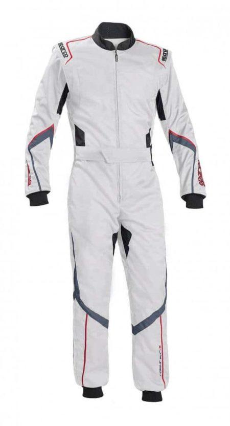 Sparco Robur KS-5 Kart Suit in White