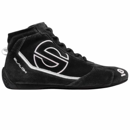 Sparco Slalom RB-3 Race Boots in Black & White
