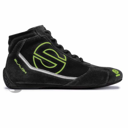 Sparco Slalom RB-3 Race Boots in Black & Green
