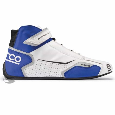 Sparco Formula RB-8 Race Boots Blue & White
