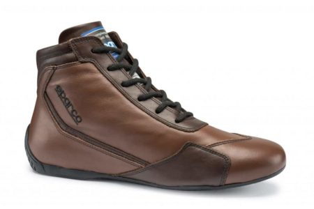 Sparco Slalom RB-3 Classic Race Boots in Brown