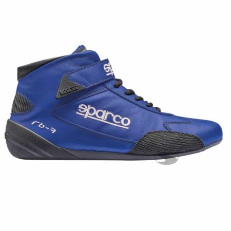 Sparco Cross RB-7 Race Boots in Blue