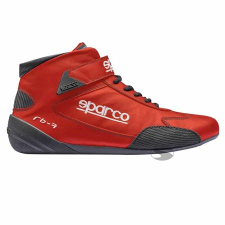 Sparco Cross RB-7 Race Boots in Red