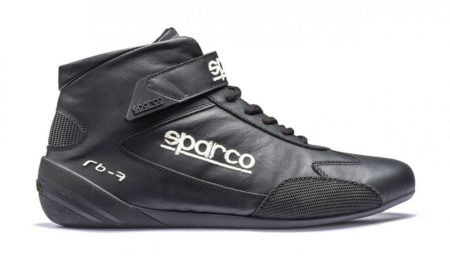 Sparco Cross RB-7 Race Boots in Black
