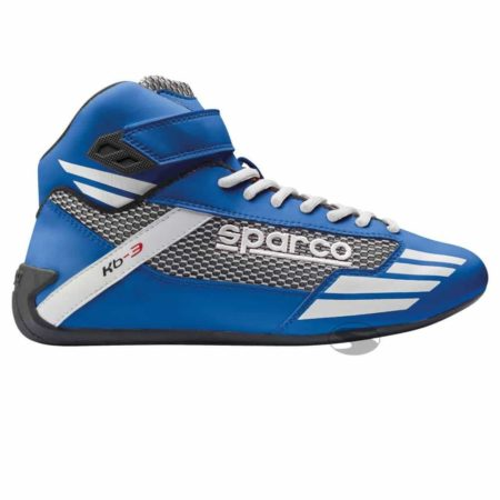 Sparco Mercury KB-3 Kart Boots in Blue