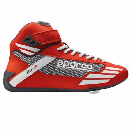 Sparco Mercury KB-3 Kart Boots in Red