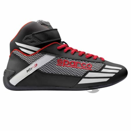 Sparco Mercury KB-3 Kart Boots in Black & Red