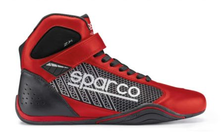 Sparco Omega KB-6 Kart Boots in Red & Black