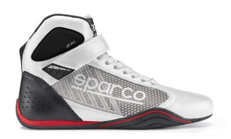 Sparco Omega KB-6 Kart Boots in White & Black