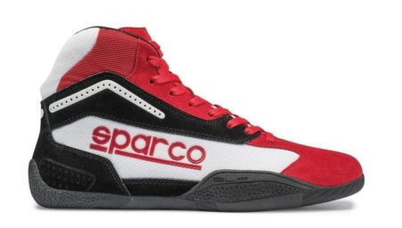 Sparco Gamma KB-4 Kart Boots in Red & Black