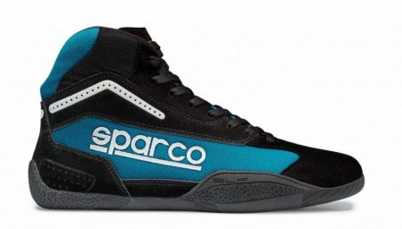 Sparco Gamma KB-4 Kart Boots in Blue & Black
