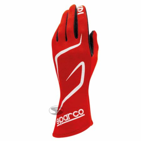 Sparco Land RG-3.1 Race Gloves in Red