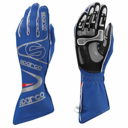 Sparco Arrow KG-7 Kart Gloves in Blue