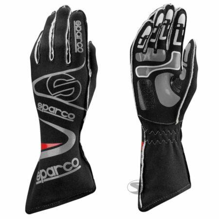 Sparco Arrow KG-7 Kart Gloves in Black